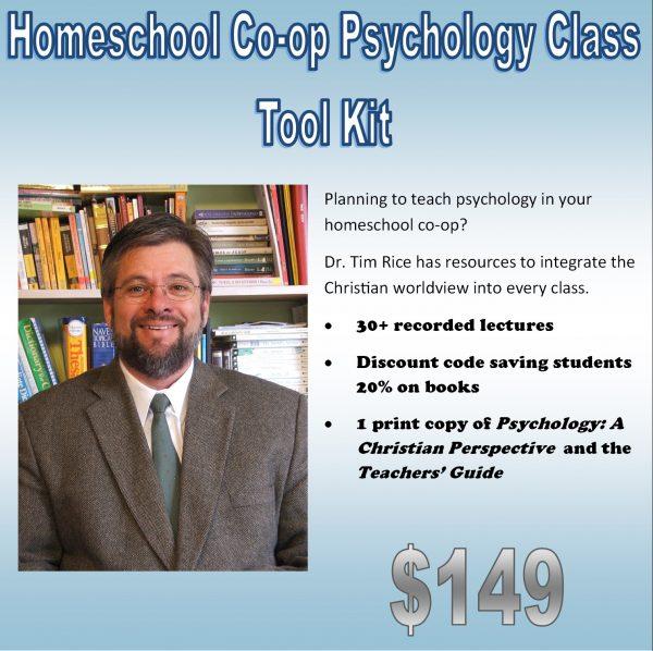 Psychology Class Homeschool Co-op Tool Kit